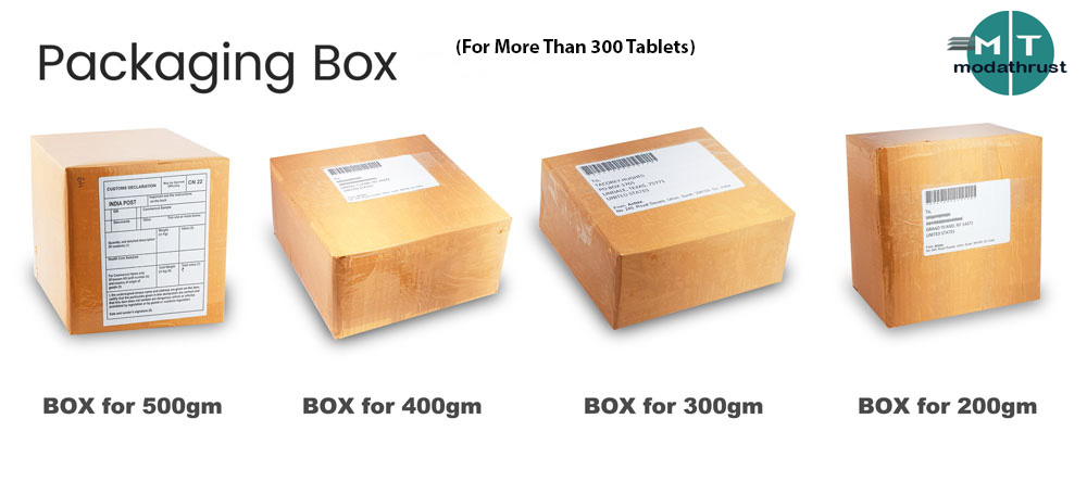 big size modafinil packages